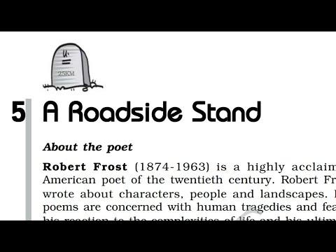 A Roadside stand poem 5 class 12th full explaination हिंदी
