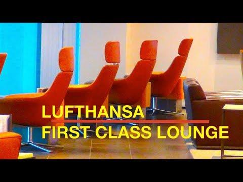 LUFTHANSA VIP | FIRST Class & HON Circle LOUNGE | Germany | Airport Frankfurt