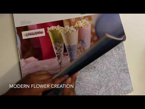 Mini Paper Rose Tutorial | Cricut Paper Flowers | Modern Flower Creation