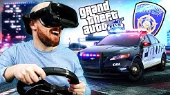 GTA 5 In VR With A Steering Wheel Is So Much FUN