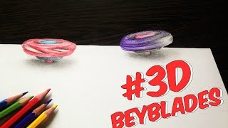 3D Battling Beyblades