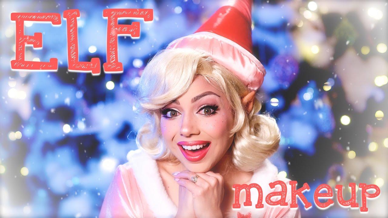 christmas elf makeup youtube - Christmas Elf Makeup