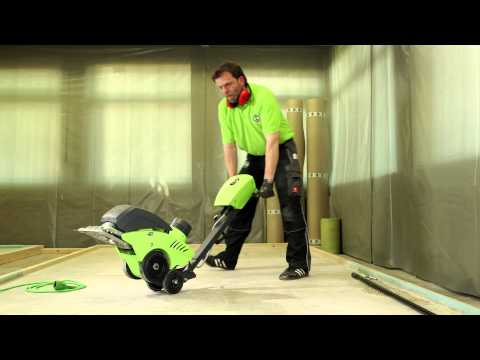 WOLFF Cayman-Stripper (engl.) removes floor coverings