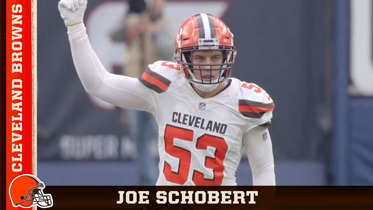 buy online b15ed bc1c9 'Joe Schobert Is the Heart & Soul of the Defense' | Cleveland Browns