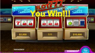 Slot 777 Onlie Slots and Scratchie Combo(http://www.scratch-fever.com NeoGames lets you enjoy the classic slot with that of scratchies in a high paying online game that has a jackpot of £100000!, 2012-10-11T06:55:53.000Z)