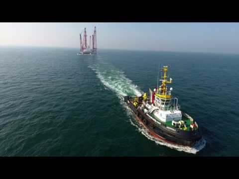 Horne & Wren Platform Decommissioning - Scaldis Salvage & Marine Contractors NV