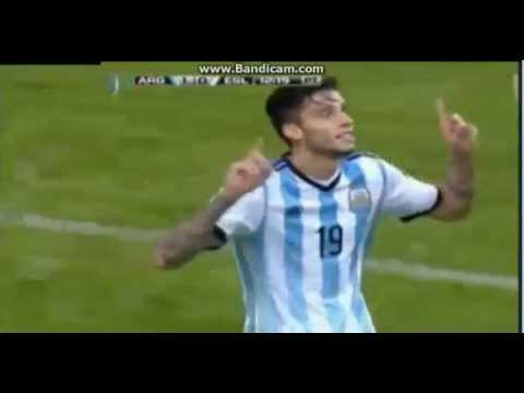 Argentina 2 - 0 Slovenia amistoso internacional 07/06/2014