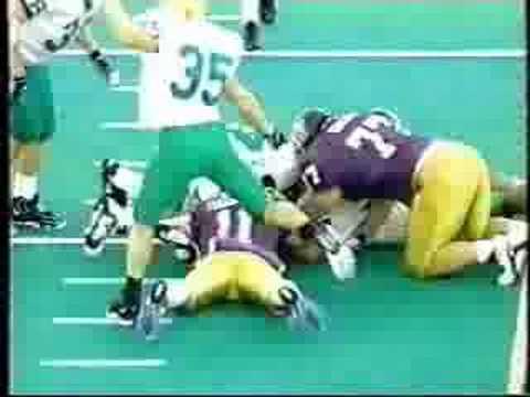 1997 - OREGON at washington [1st half]