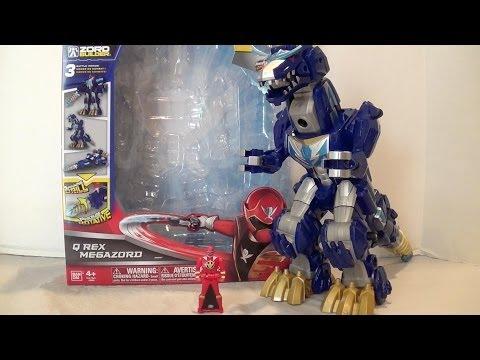 Q Rex Megazord Review [Power Rangers Super Megaforce]