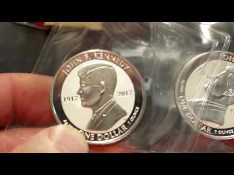 NEW JOHN F KENNEDY SILVER Coins new at MCM