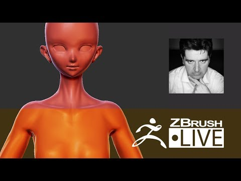 Figurine and 3D Printing with ZBrush #1 - Ninja Girl - Thomas Roussel