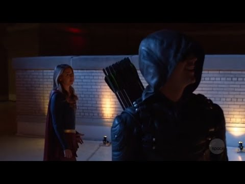 Arrow 7x09 Arrival in Gotham City (HD)