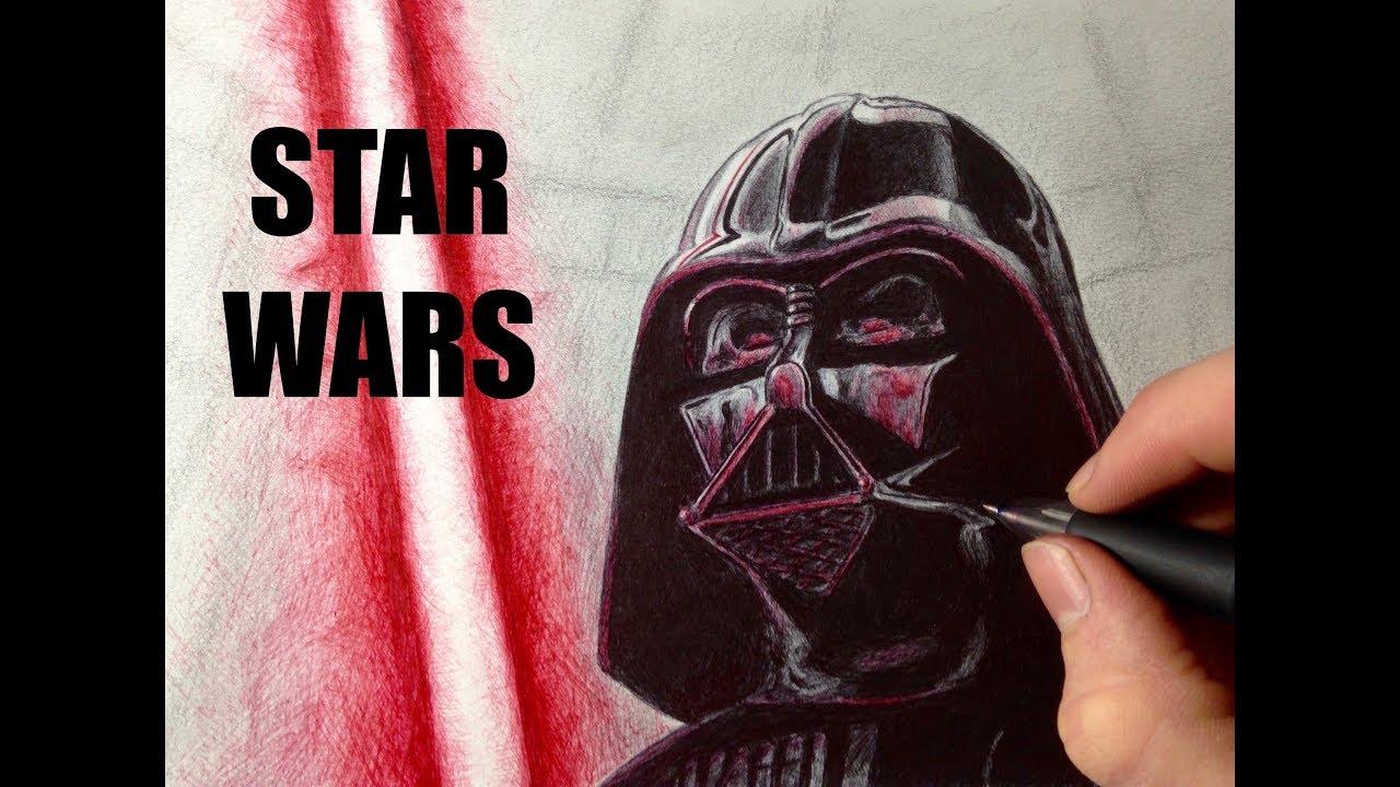 Dessiner Dark Vador Au Stylo Star Wars