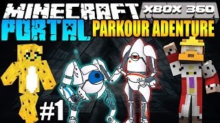 Minecraft (PS3 / XBOX360) Parkour Adventure Map #1 w/ BOLTZ & Toycat