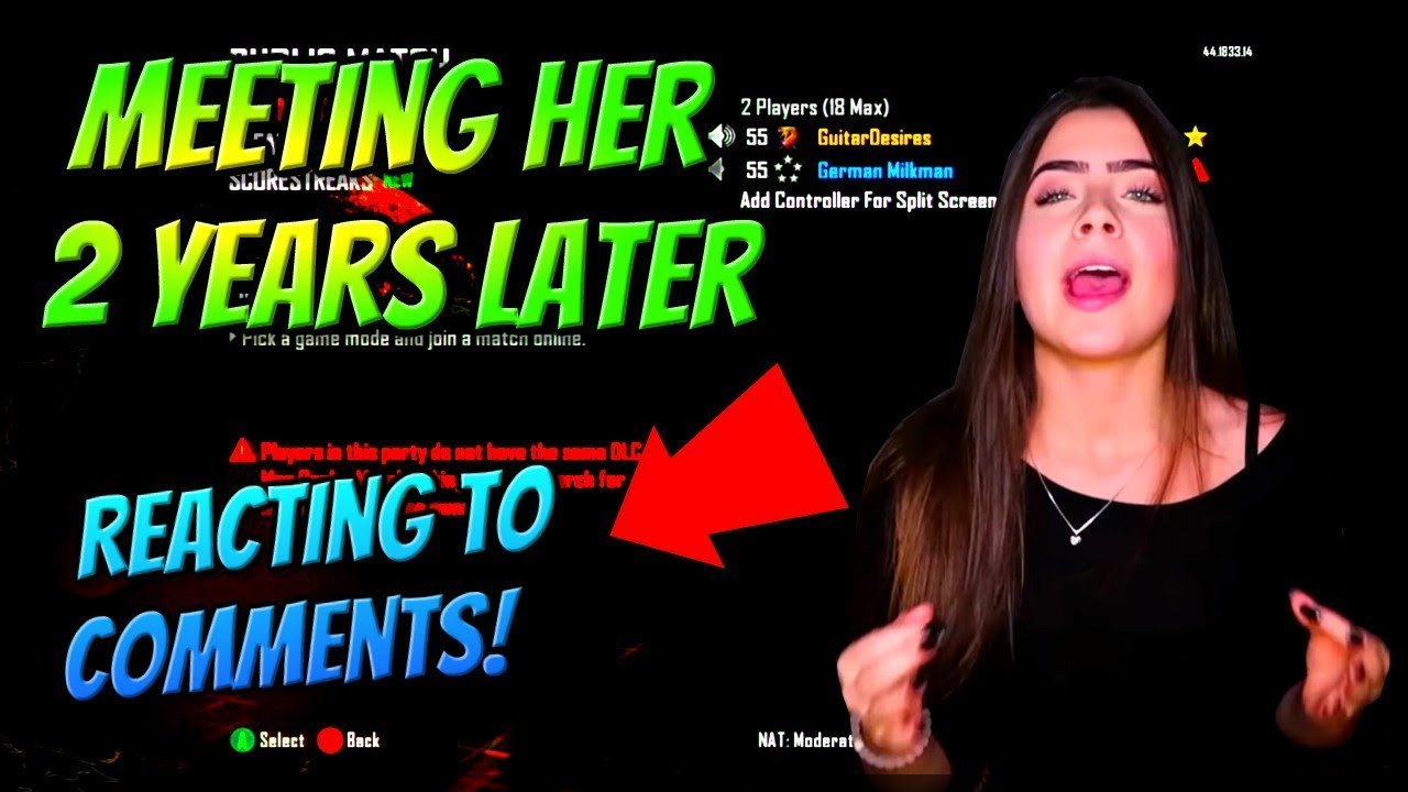 Black Ops 2 Meeting Cute Girl 2 Years Later! (She Said No ...