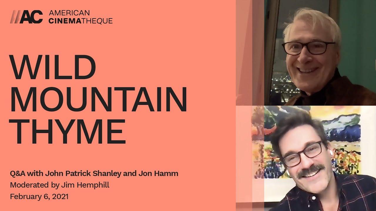 Jon Hamm and John Patrick Shanley