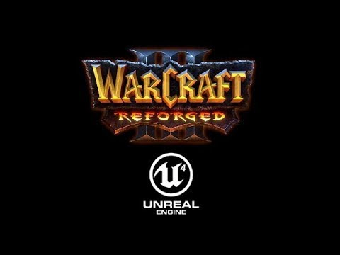 WARCRAFT 3 REFORGED NIGHT ELVES INTRO IN UNREAL ENGINE 4