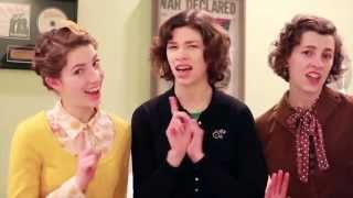 Andrews Sisters Chattanooga Choo Choo as sung by The Boyer Sisters