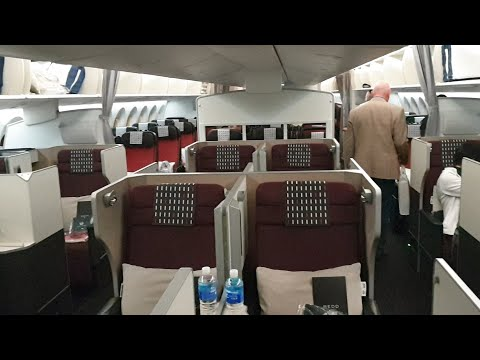Japan Airlines Tokyo To Sydney B787-9 Dreamliner Business Class - Flight Review