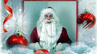 Именное видео поздравление С Новым годом для  Полины 🎄 Дед Мороз