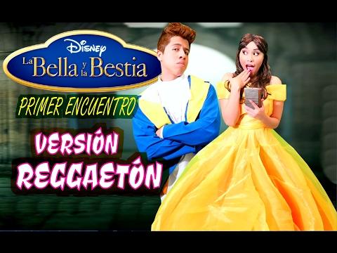 La Bella y la Bestia - El Musical 🎤 Te miré en Instagram (canción)   Princesas Disney en ESPAÑOL