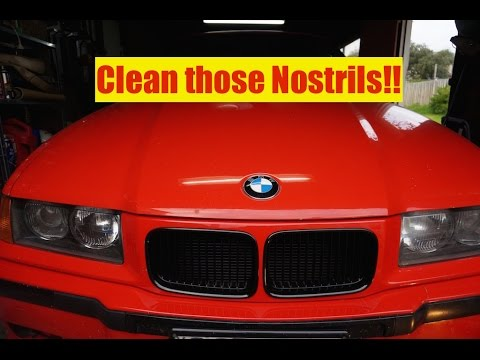 Fixing the Nostrils on my E36 M3