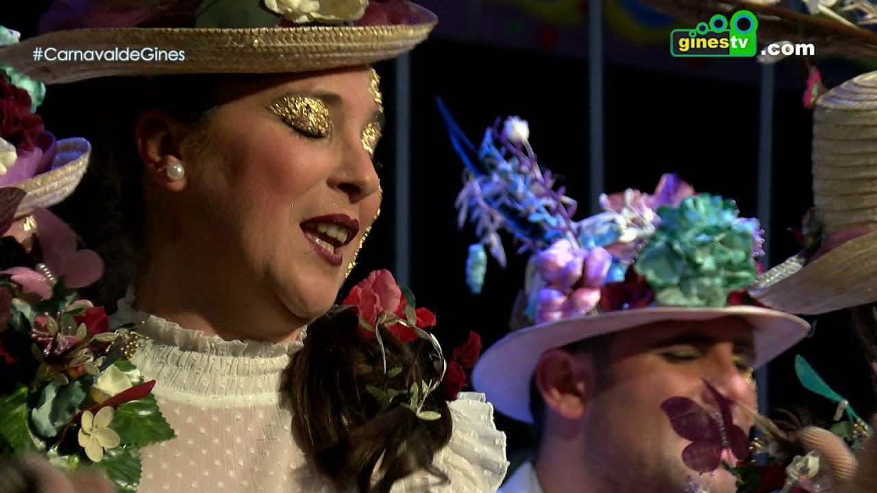 La flor de la vida. Carnaval de Gines 2018 (Cuarta semifinal)