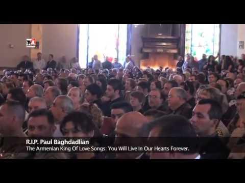 Paul Baghdadlian The King Of Armenian Love Songs  In Loving Memory