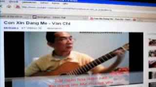 MONGTHUY  -  CON XIN DÂNG ME  -  LM.  VAN CHI