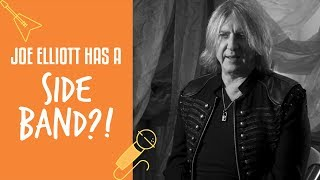 History behind Joe Elliott's Side Band Down 'n' Outz