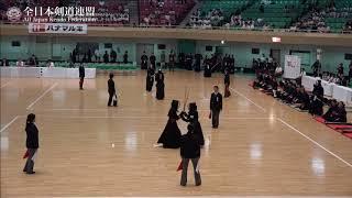 KUMAMOTO vs WAKAYAMA 10th All Japan Interprefecture Ladies KENDO Championship 2018 2nd Round