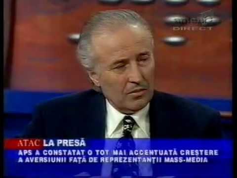 5.02.2002 - CTP agresat verbal de Gigi Becali intr-o cafenea si scandalul SRI -- Vantu (Mihai Iacob)