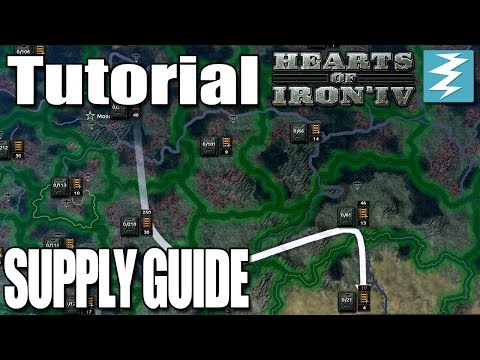 SUPPLY GUIDE - DAY 6# - Hearts of Iron 4 (HOI4)