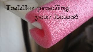 Toddler/baby Proofing Tips! Diy Ideas!