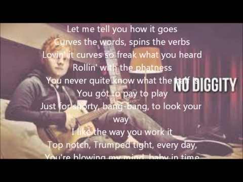 Ed Sheeran feat. Passenger No Diggity - Thrift Shop (Lyrics)