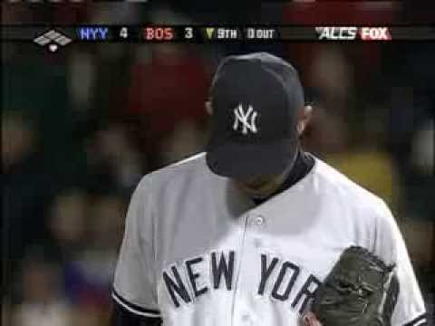 Game 4 of the 2004 ALCS - Mariano Rivera