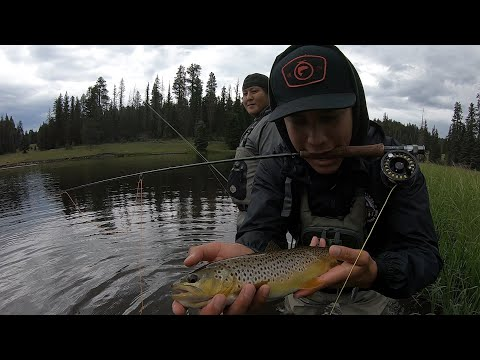 Fly Fishing Reservation Lake