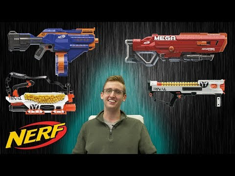 UPCOMING 2018 NERF BLASTERS! FRANK'S SPECULATION!