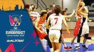 Albania v Hungary - Full Game - FIBA Women's EuroBasket 2019 - Qualifiers 2019
