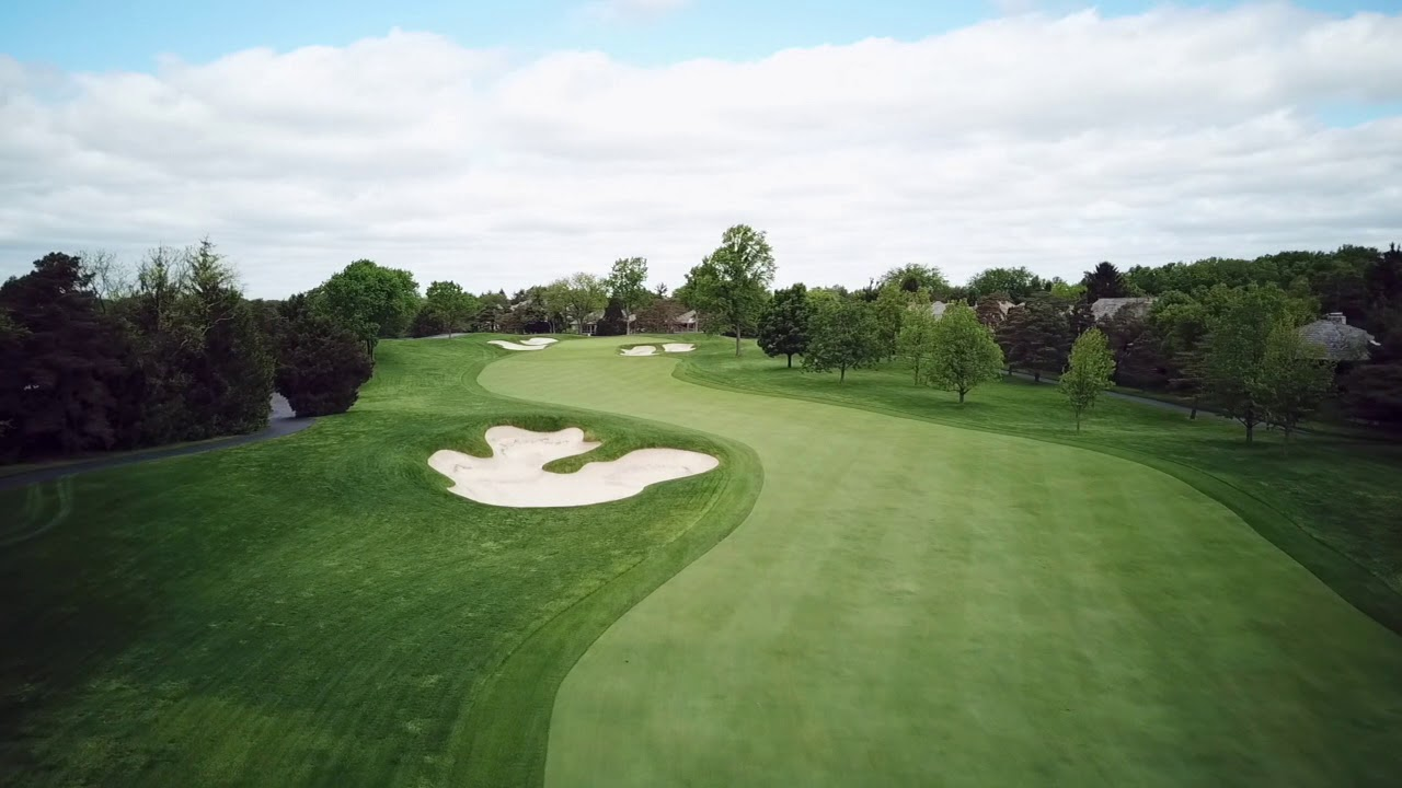 Hole 10 at Muirfield Village Golf Club - YouTube