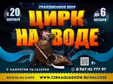 Цирк На воде Нальчик с 20 сентября 2019