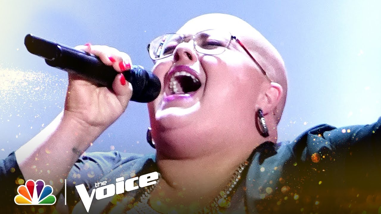 """Download Holly Forbes' 4-Chair Turn Performance of Elton John's """"Rocket Man"""" 