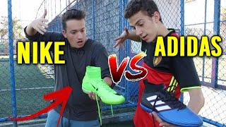 Chuteira mercurial (cristiano ronaldo) vs chuteira ace (pogba) - nike vs adidas