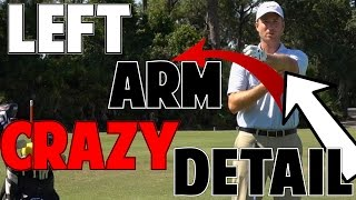 Perfect Golf Impact | The Left Arm In Crazy Detail