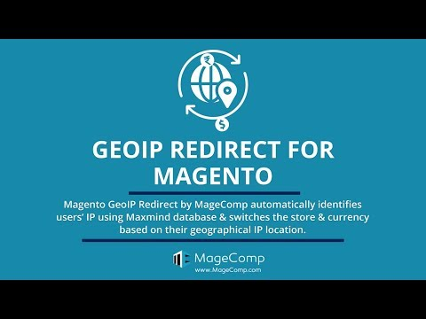 Magento GeoIP Redirect, Magento Store & Currency Switcher