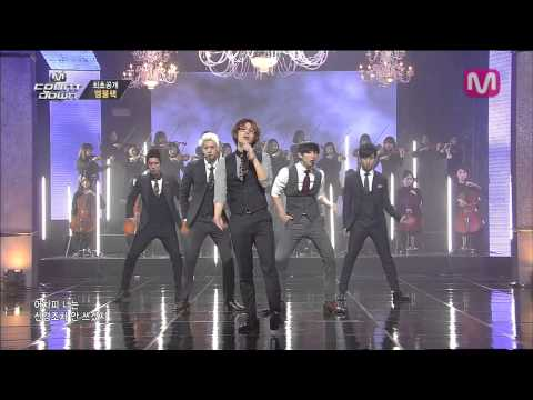 엠블랙_남자답게 (Be A Man By MBLAQ Of M COUNTDOWN 2014.3.27)