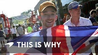 Why McLaren?