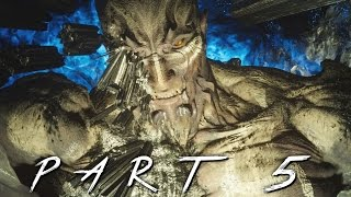 Titan Boss in Final Fantasy 15 Walkthrough Gameplay Part 5 (FFXV)
