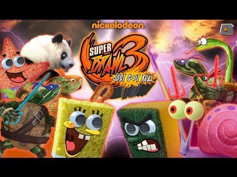 spongebob fighting games