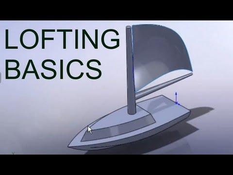 E8 SolidWorks Loft Boat